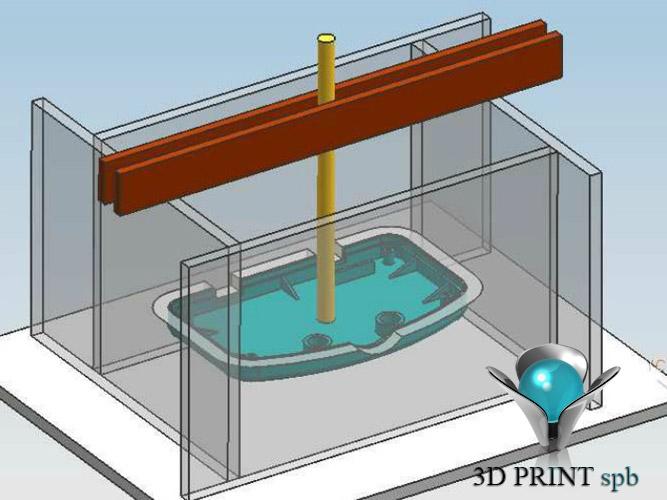 Литьё пластмасс в силиконовую форму, литьё пластика, литьё в силикон